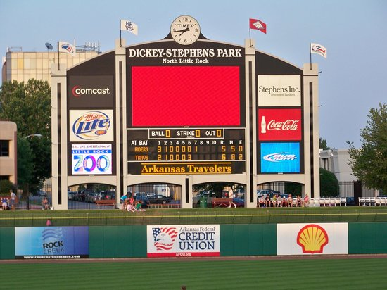 Dickey-Stephens Park: Dickey Stephens Park scoreboard