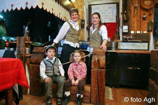 Siror, Italia: Gestori di Malga Canali
