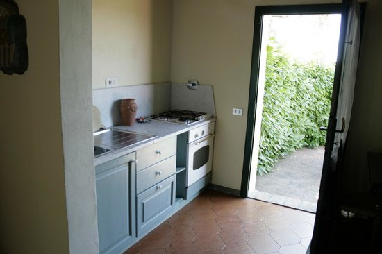 Fattoria Bacio: aneks kuchenny