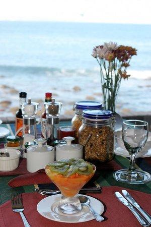 Pier Plesier Guest House: Breakfast