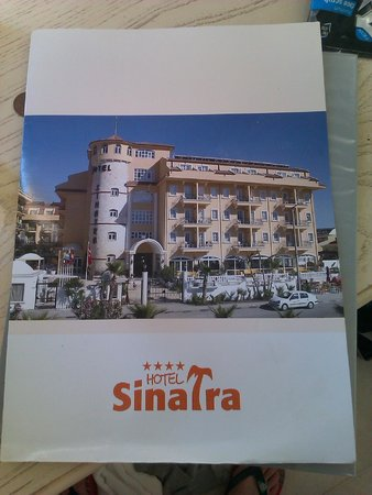 Sinatra Hotel: Brochure Given to you