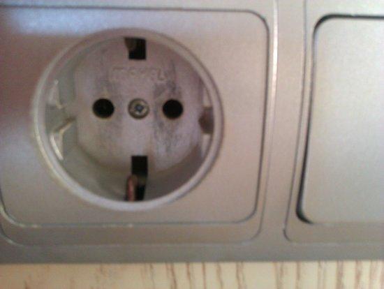 Sinatra Hotel: Plug Socket (Same as Europe)