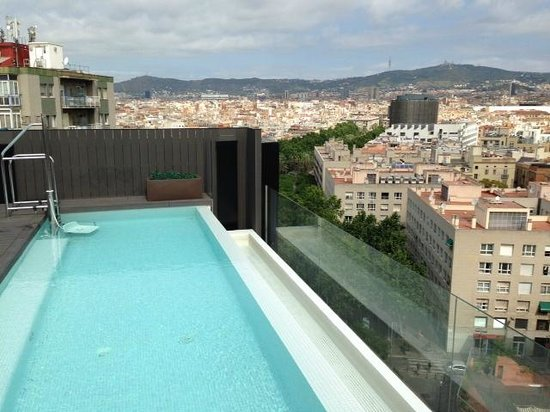 pool am dach bild von andante barcelona tripadvisor. Black Bedroom Furniture Sets. Home Design Ideas