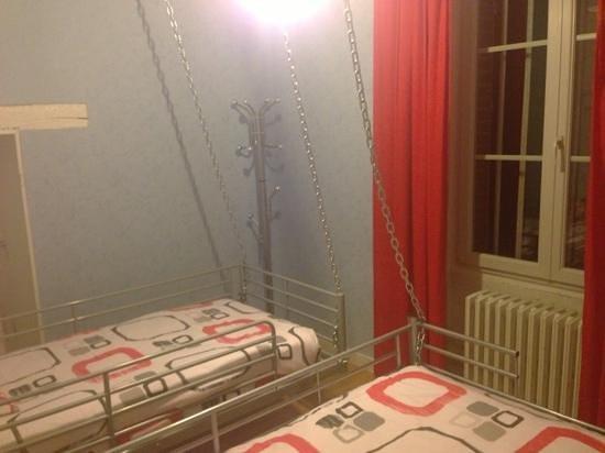 Chateau de Vaugrignon : chambre enfants de la suite