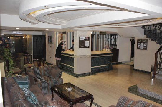 Havana Hotel: Reception