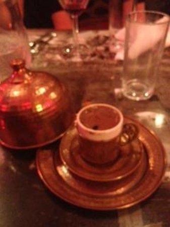 ADA-Turkish Barbeque & Meze Bar: Turkish coffee