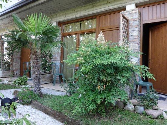 B&B Il Rondo : Terrasse