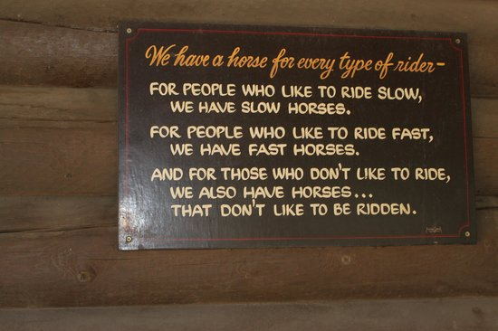 Red Horse Mountain Ranch: Horse Sign