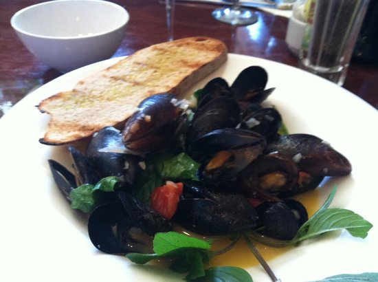 The Press Room : Mussels