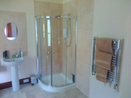 Balintraid, UK: En suite with shower toilet and sink facility's