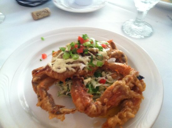 King's Contrivance Restaurant: Soft Shell Crab