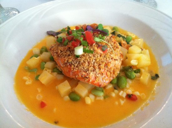 King's Contrivance Restaurant: Salmon