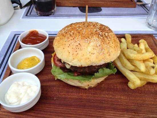 bistro hamburger - Picture of Retro Bistro, Kas - TripAdvisor