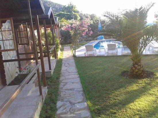 Onur Motel: Havuz alanı