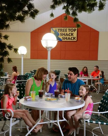 Tan-Tar-A Resort, Golf Club, Marina & Indoor Waterpark: Timber Falls Snack Shack