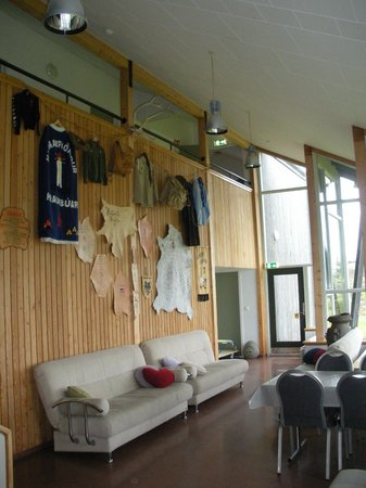 Lava Hostel : The scout wall
