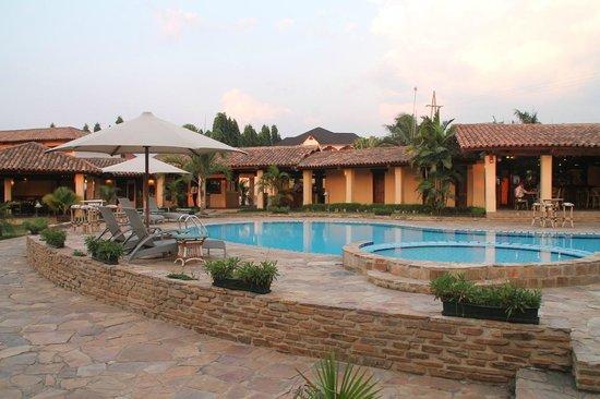 Hôtel de la Palmeraie : Pool area