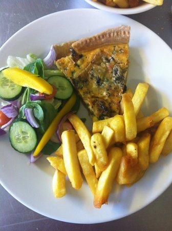 Lions Of Bledlow: Vegetarian tart