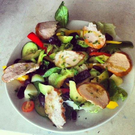 Lions Of Bledlow: Chicken salad