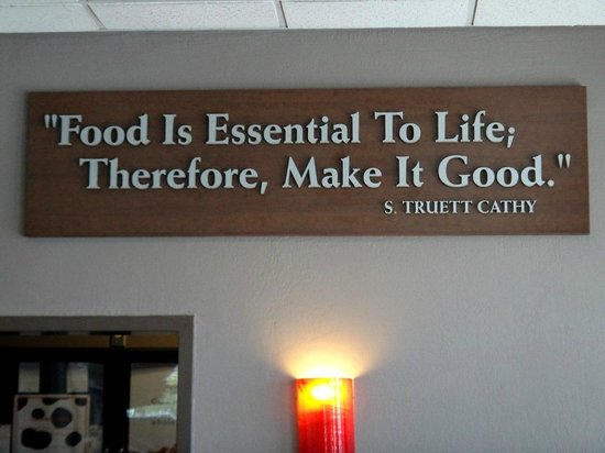 Chick-fil-A: They stand by their motto
