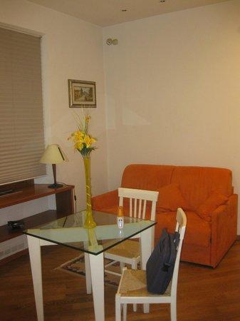 Residence San Niccolo : soggiorno/cucina