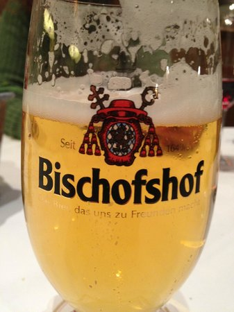Hotel Bischofshof am Dom: Hotel brews their own beer which was wonderful