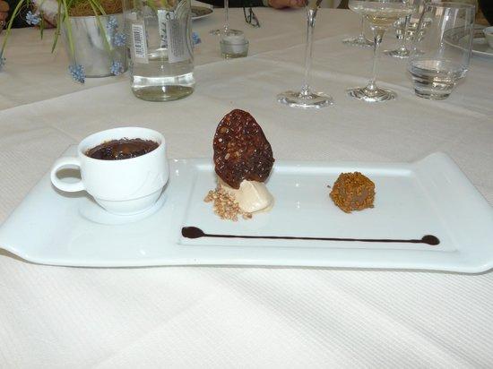 le chateau du clos de la ribaudiere : Menu de la Broue - Dessert