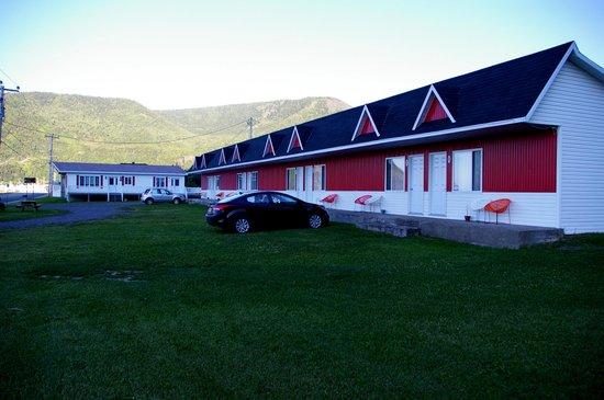 Motel Les Flots Bleus: Vue générale