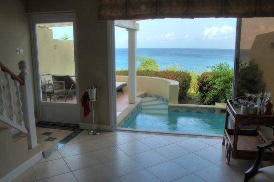 Sandals Regency La Toc: The lower level of our villa
