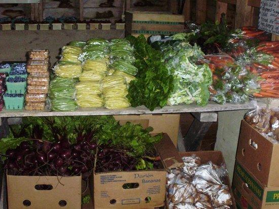 Hubbards Barn and Community Park: vegies