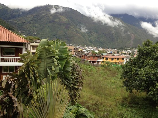 La Casa del Molino Blanco Bed & Breakfast: View from our double room