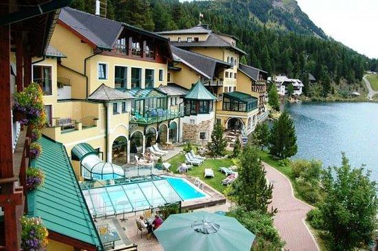 Romantik Seehotel Jägerwirt: Blick von unserem Balkon