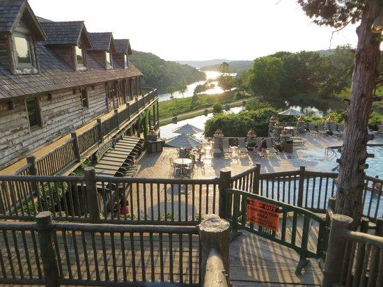 Big Cedar Lodge: From patio at Devil's Pool Restaurant