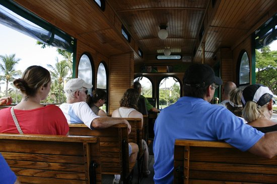 Whalers Village Trolley Picture Of Hyatt Regency Maui Resort And Spa Lahaina Tripadvisor