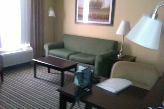 Hampton Inn & Suites Thousand Oaks: sitting aea