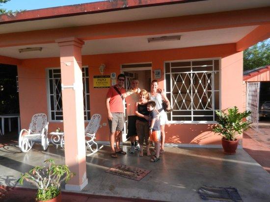 Casa Papo y Niulvys: Front of Casa