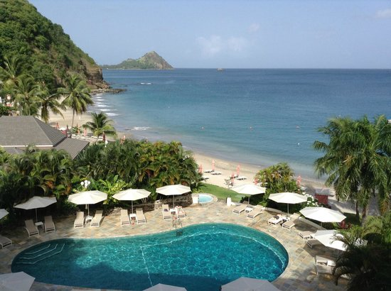 BodyHoliday Saint Lucia: View from room 323