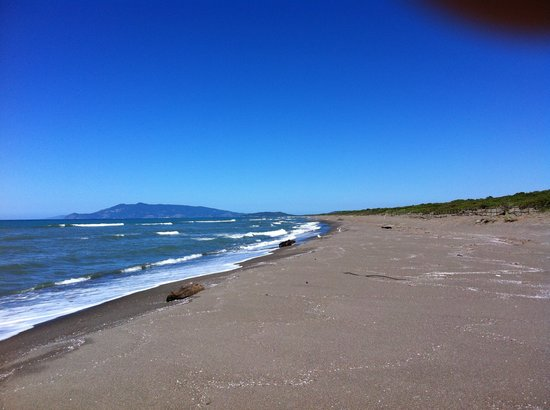 Capalbio, Italien: Un infinita spiaggia libera