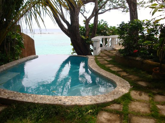 Jamaica Inn: Plunge pool - Cottage 4