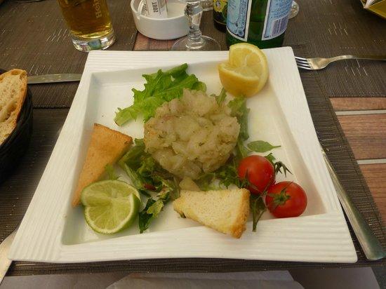 Restaurant de la Reine Jeanne : My starter