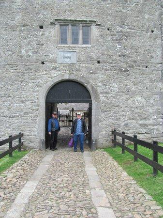 Parke's Castle: The gates