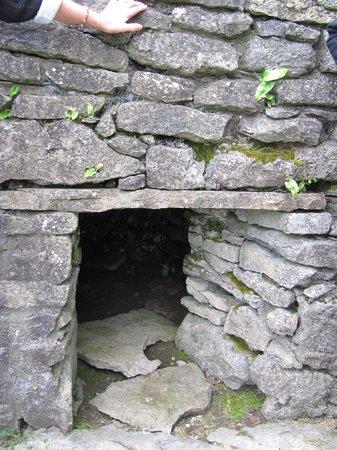 """Parke's Castle: Entrance to the """"sauna"""""""
