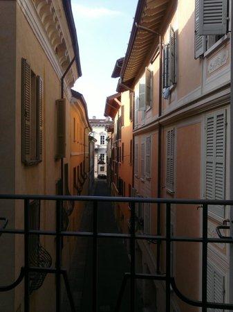 La Filanda di Brescia: vista dalla stanza XL