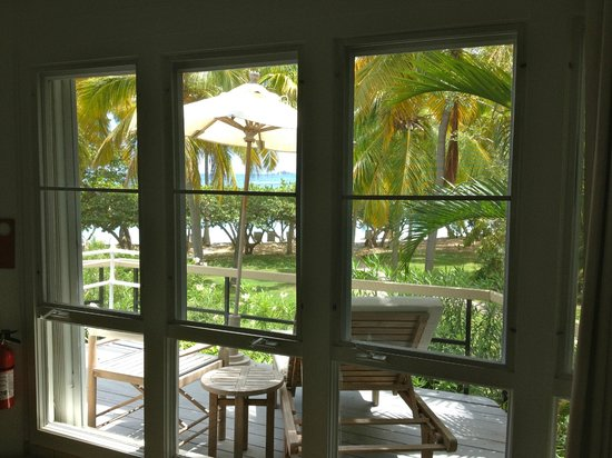 Rosewood Little Dix Bay: View from Tree House Cottage