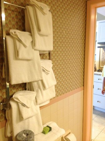 Wild Dunes Inn: Towels