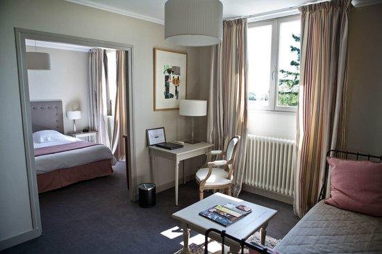 Hotel Villa Louise Aloxe Corton Frankreich