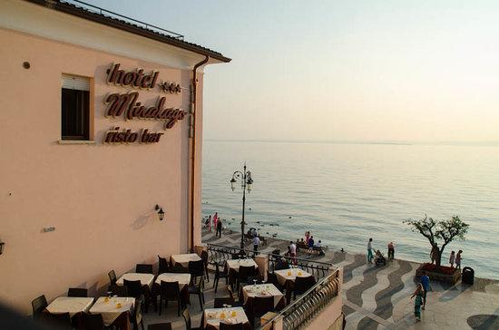 Hotel Miralago: La terrazza per una colazione o una cena sul lago
