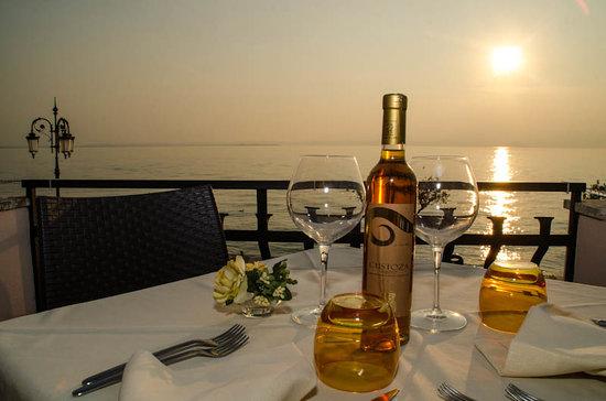 Hotel Miralago: Una cena sul lago