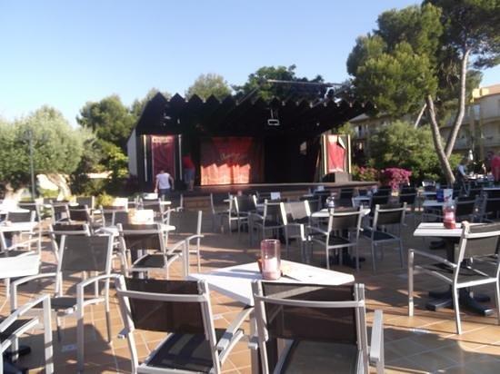 Viva Mallorca: Veranstaltungsbühne