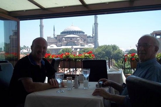 Celal Sultan Hotel: terrace with a view